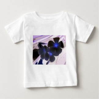 flowers invert t-shirt