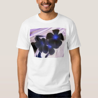 flowers invert t-shirts