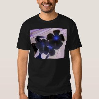 flowers invert tshirts