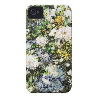 FLOWERS.jpg PRESTADO Carcasa Para iPhone 4
