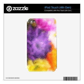 flowers.jpg decal for iPod touch 4G