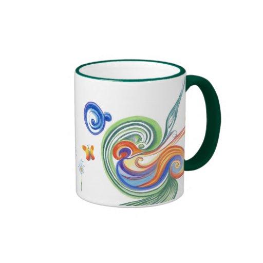 Flowers Kaffee Tasse