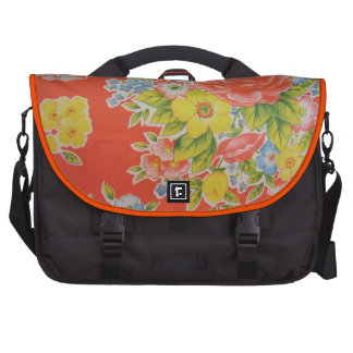 flowers kitch kitchen style laptop bags