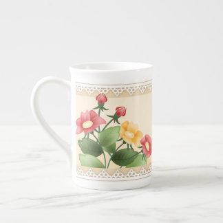 Flowers & Lace Tea Mug