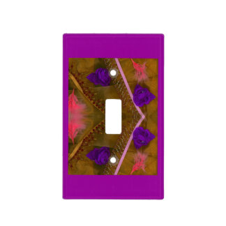 Flowers Light Switch Cover