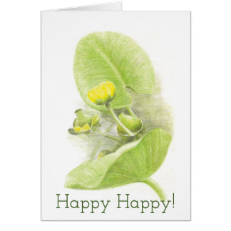 Flowers lilies card
