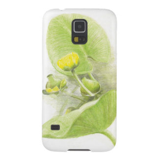 Flowers lilies galaxy s5 cover