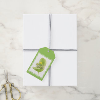 Flowers lilies gift tags