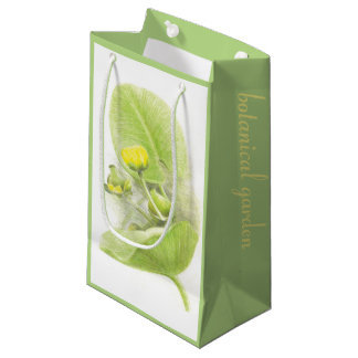 Flowers lilies small gift bag