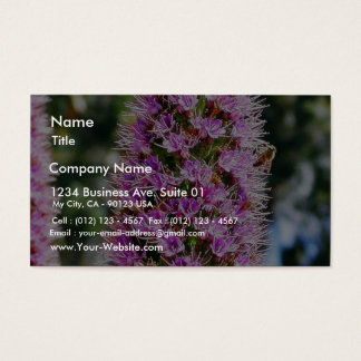 Flowers Lupine Bees Business Card
