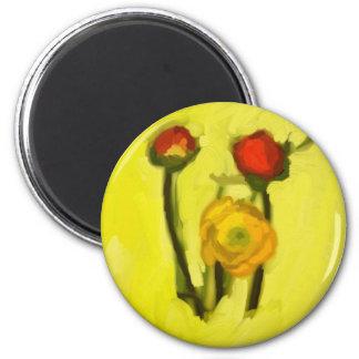 Flowers Fridge Magnets