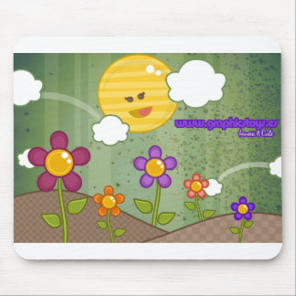 flowers maousepad 2 mouse pad