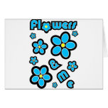 Flowers & Me Greeting Cards