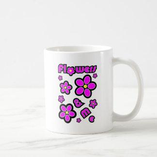 Flowers & Me Coffee Mugs