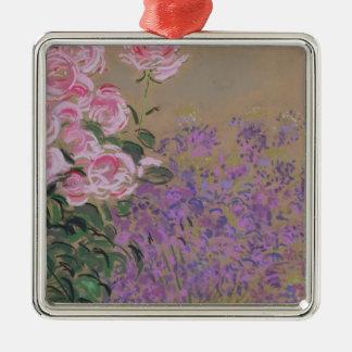 Flowers Metal Ornament
