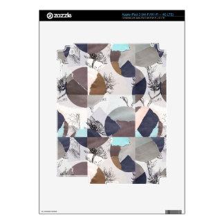 Flowers mix max iPad 3 skins