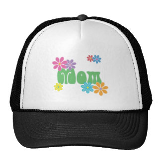 Flowers & Mom Trucker Hat