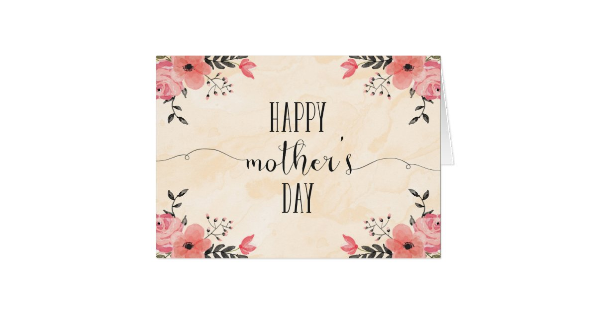 mother s day card template word