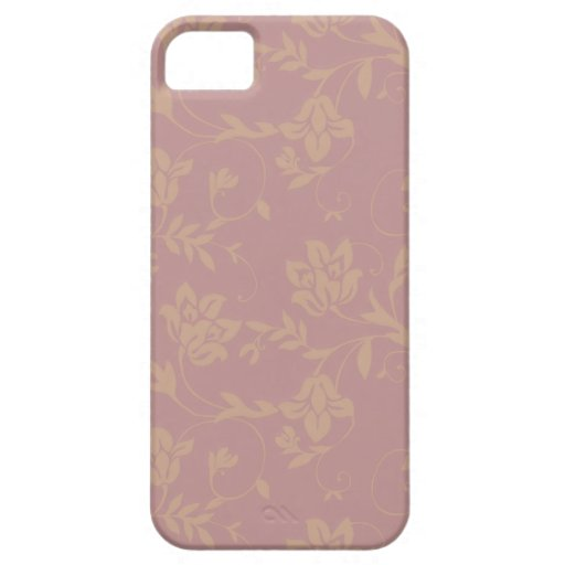 Flowers musk iPhone 5 cover