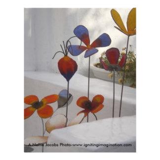 Flowers-Mykonos, Greece Custom Flyer