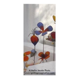 Flowers-Mykonos, Greece Rack Cards