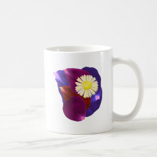 Flowers n Blessings go together : Rose Petal Art Classic White Coffee Mug