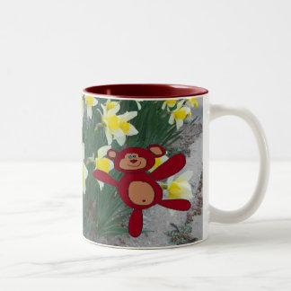 Flowers n Teddy Mug