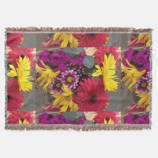 Flowers Nature Beauty Throw