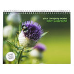 Flowers & Nature Calendar