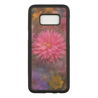 Flowers - Nature's Way of Smiling Carved Samsung Galaxy S8 Case
