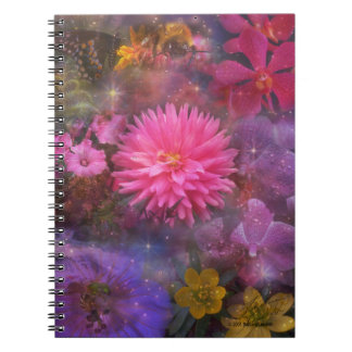 Flowers - Nature's Way of Smiling Notebook