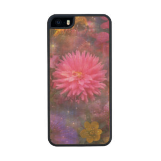 Flowers - Nature's Way of Smiling Carved® Maple iPhone 5 Slim Case