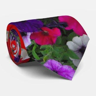 flowers neck ties