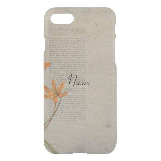 Flowers Newspaper iPhone 8/7 Case