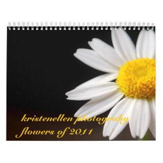 Flowers of 2011 calendar