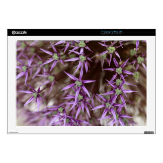 "Flowers of a Persian onion 17"" Laptop Decal"