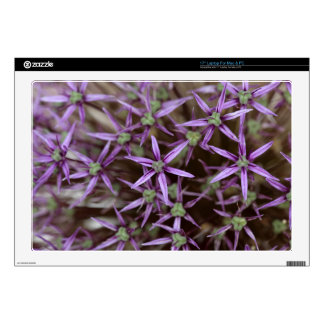 "Flowers of a Persian onion 17"" Laptop Skin"
