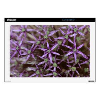 "Flowers of a Persian onion 17"" Laptop Skin"