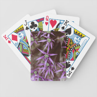 Flowers of a Persian onion Bicycle Playing Cards