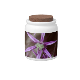 Flowers of a Persian onion Candy Jar