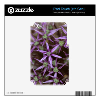 Flowers of a Persian onion Decal For iPod Touch 4G