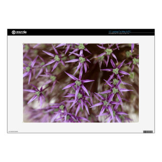 Flowers of a Persian onion Laptop Skin