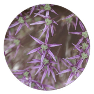 Flowers of a Persian onion Melamine Plate