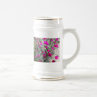 Flowers of a Tour Beer Stein