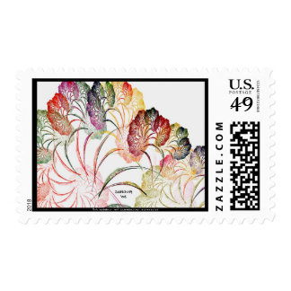 Flowers of Anderson Indiana Stamp