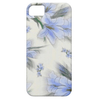 Flowers of Blue iPhone 5 Cases