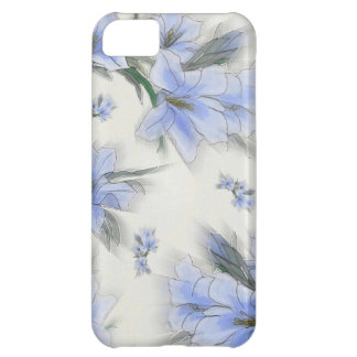 Flowers of Blue iPhone 5C Cover