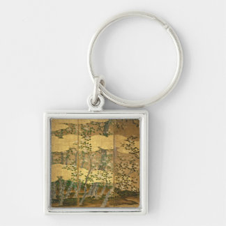 Flowers of Camellias Keychain