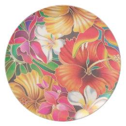 FLOWERS OF FIJI PLATE