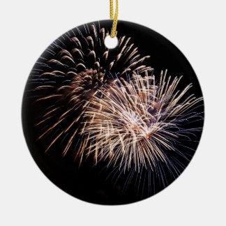 Flowers of fireworks -